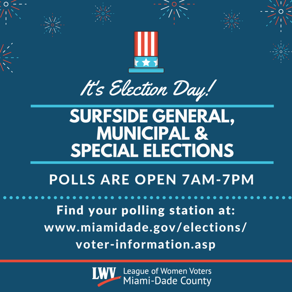Surfside General Municipal and Special Elections