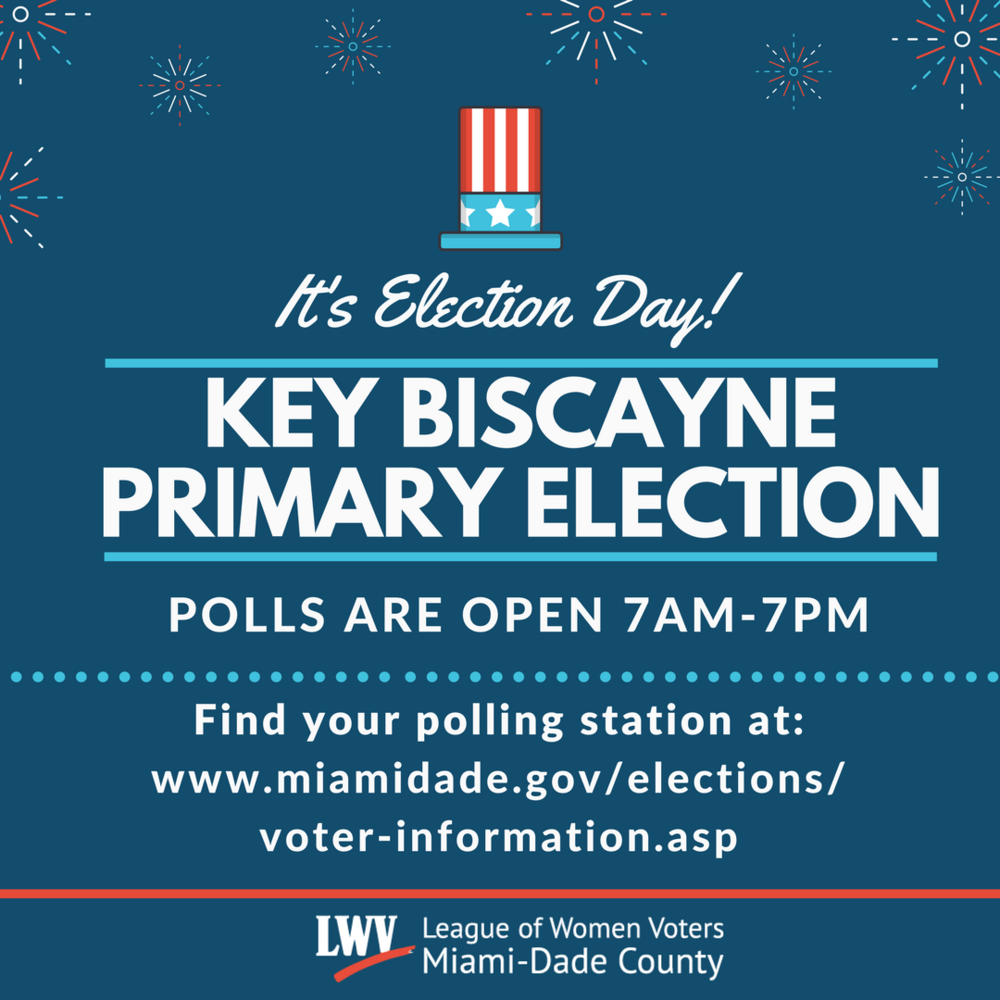 Key Biscayne Primary Election