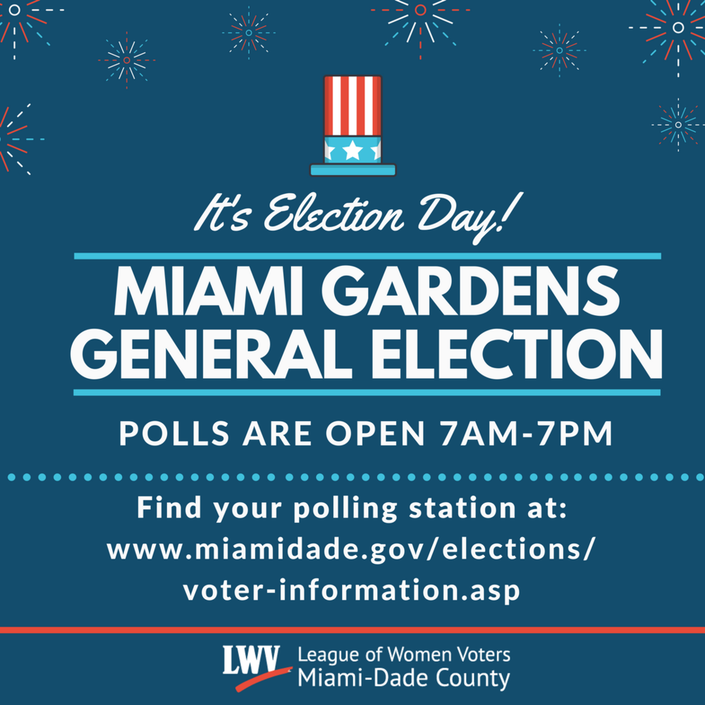 Miami Gardens General Election