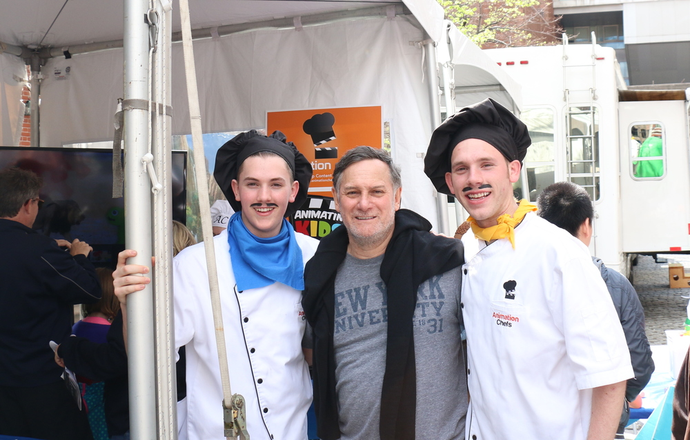 Animation Chefs with Craig Hatkoff, author for  Cecil's Pride: The True Story of a Lion King  and Co-Founder of the Tribeca Film Festival