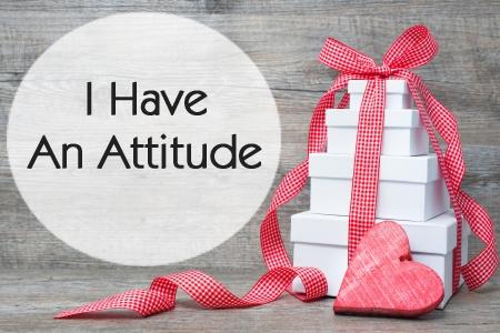 I HAVE AN ATTITUDE