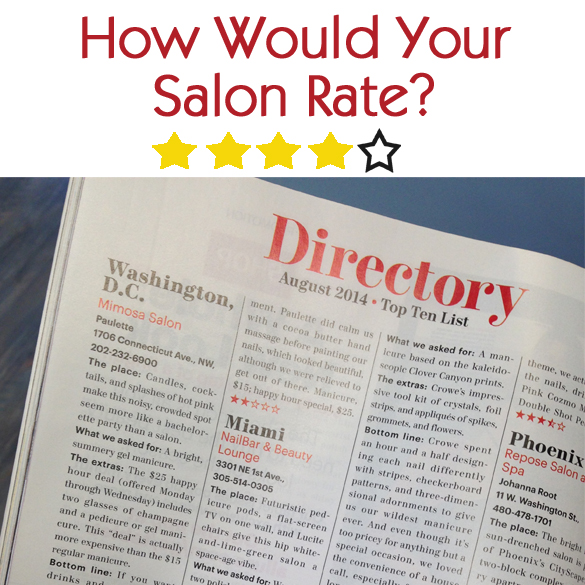 How Would Your Salon Rate?
