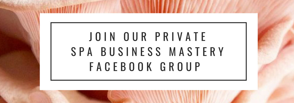 Spa Business Mastery Facebook Grop
