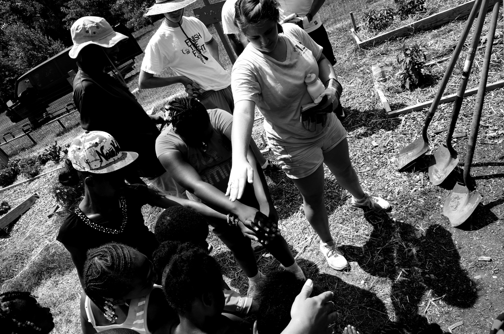 Paradise Youth Community Garden field trip