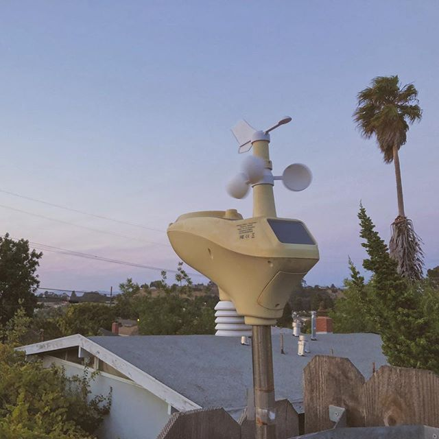 #personalweatherstation #makingithappen #solar #tarahills #california