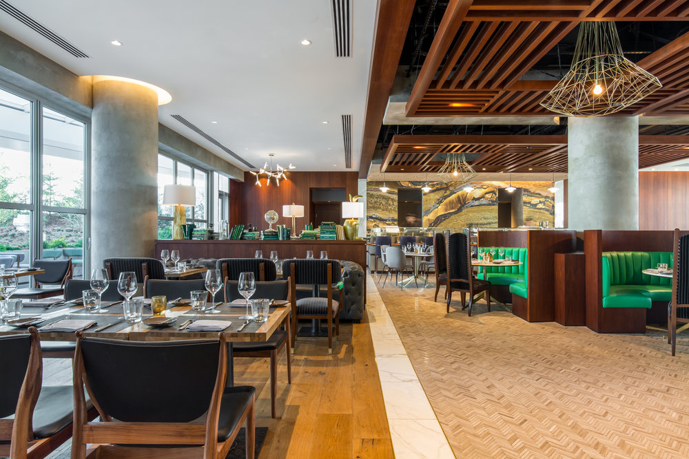 The Victor Steakhouse at Parq Vancouver  Photo by Upper Left Photography
