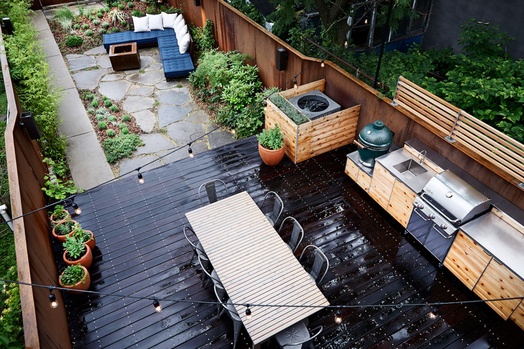 Garden Design Brooklyn Model Landscape Design & Architecture Brooklyn  Nyc  New Eco Landscapes
