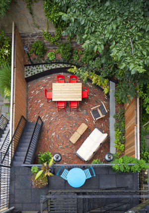 Modern Landscape Garden Designs Brooklyn New York City New Enchanting Garden Design Brooklyn Image