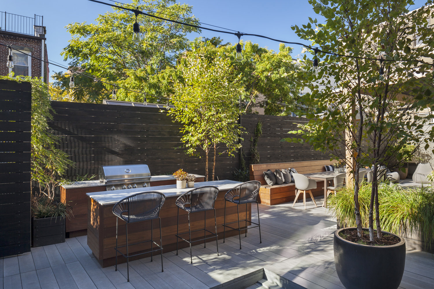 outdoor kitchen design new york city new eco landscapes