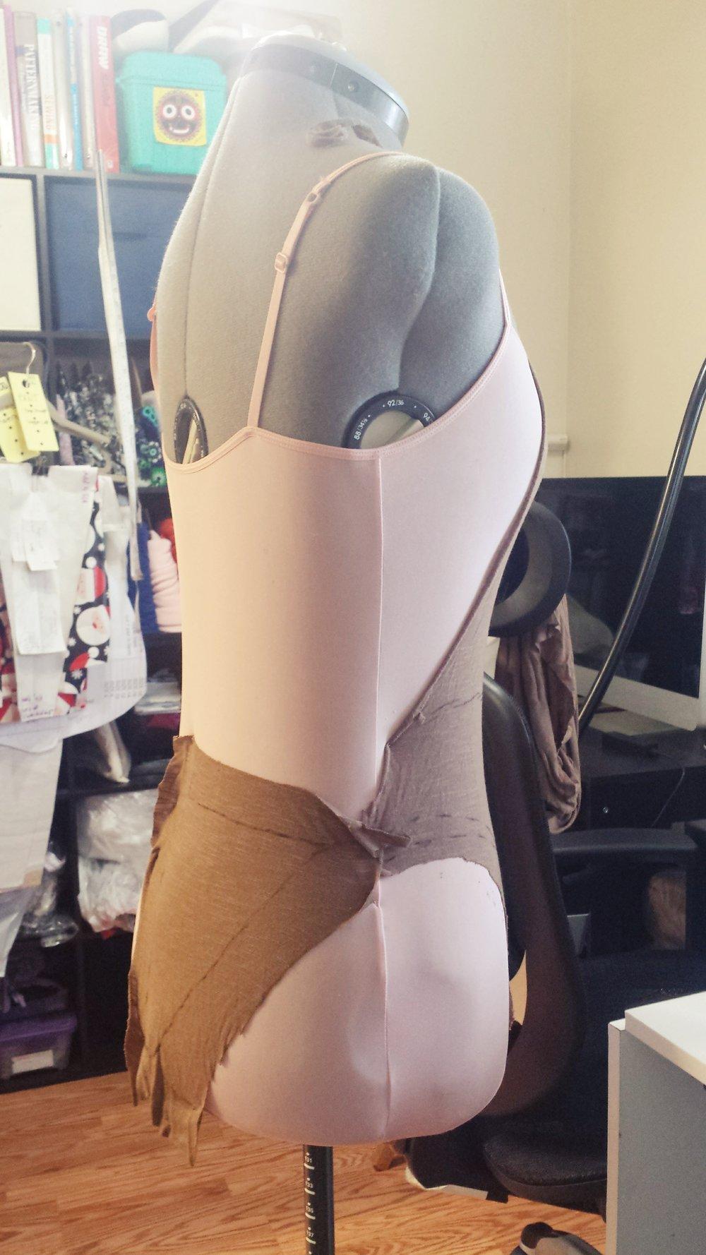 Swimsuit drape- SajaEgo.com