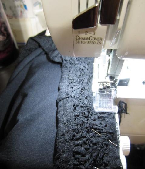 Sew on a stretch Lace Waistband - SajaEgo.com