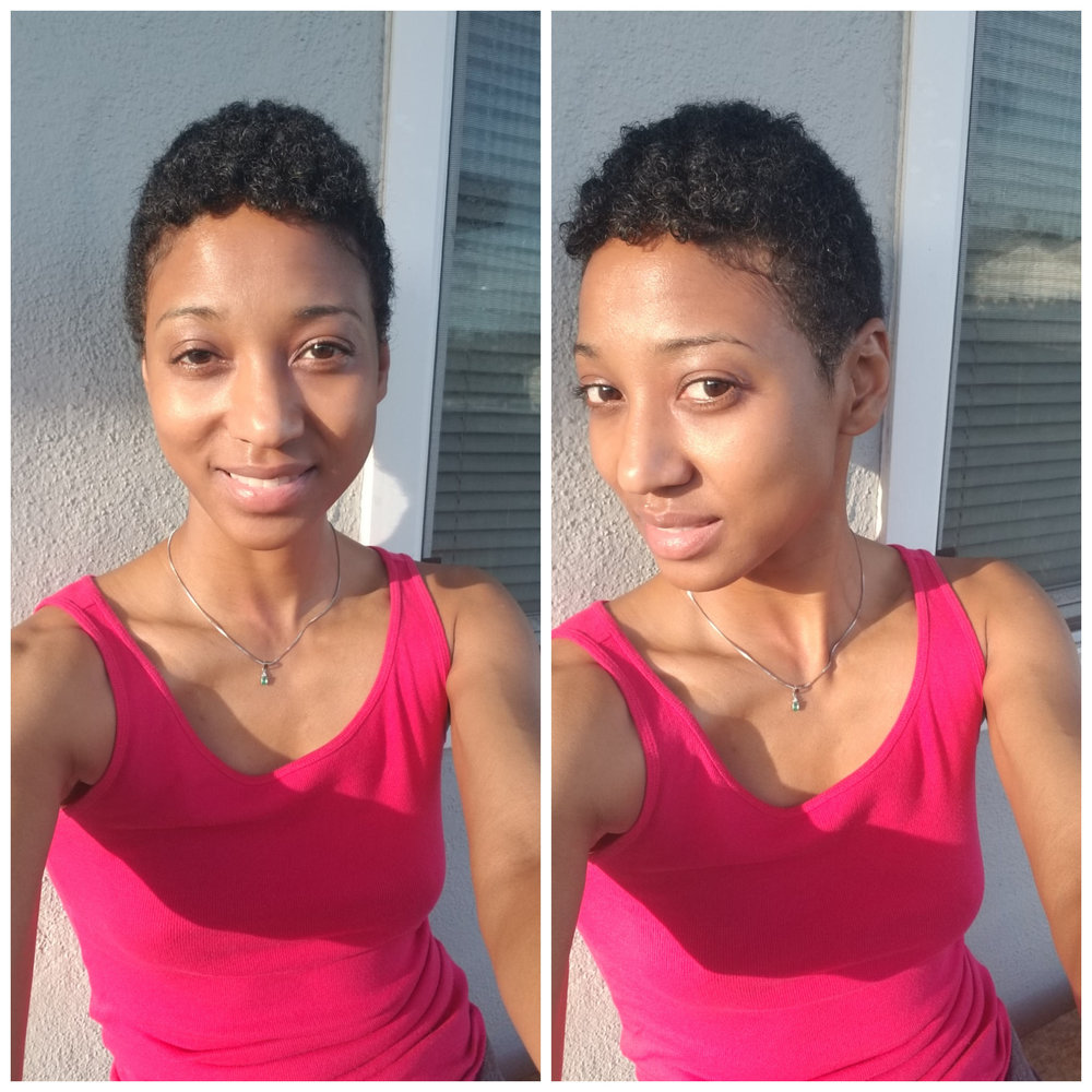 New Do! I cut off all my curls and I love them but they were taking up a lot of my time & plus I've had the same hairstyle my whole life! This crop cut is so much faster, easier,  & it's about time for me to rock a new look.