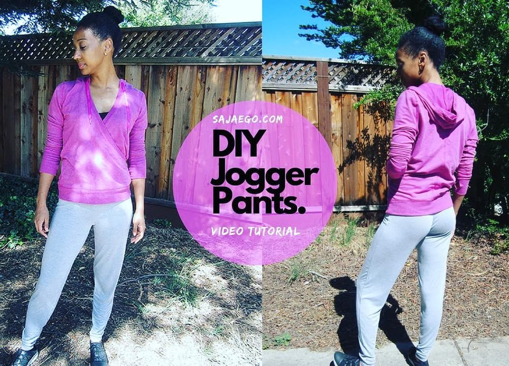 DIY Yoga Pants Tutorial SajaEgo