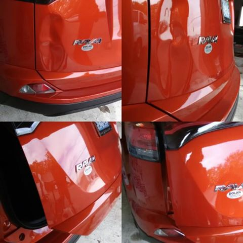 BEFORE AND AFTER TOYOTA RAV 4 PAINTLESS DENT REPAIR PROCESS.jpg