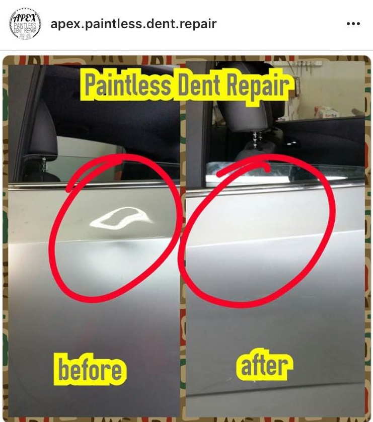 BEFORE AND AFTERNasty Door Dent PDR reno.jpg