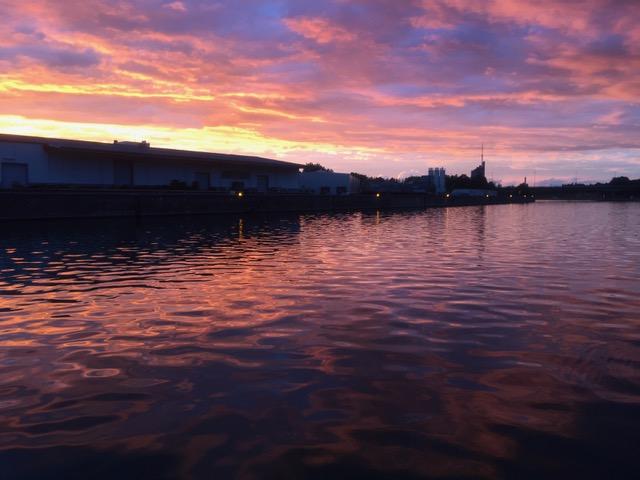 Danube Sunset