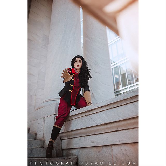 Asami Sato of 'The Legend of Korra' Cosplayer is @toughcutie . . Want to book with me at a convention or on location? Send me a DM for pricing and availability! I am currently booking for #animeusa2018! . . . #legendofkorra #avatarthelegendofkorra #thelegendofkorra #legendofkorracosplay #lokcosplay #asamisato #asamisatocosplay #asamicosplay #asamicosplayer #asamisatocosplayer #cosplayphotographer #cosplayphotography #photographybyamiee #newenglandcosplayphotographer #nikon #d810 #sigma35mmart #lightroom #vsco #otakon2018 #otakon2018cosplay #otakoncosplay