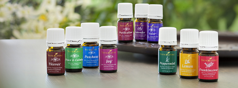 Just a few of our favorite Young Living Essential Oils