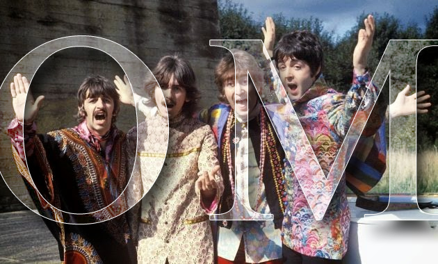 beatles-do-yoga