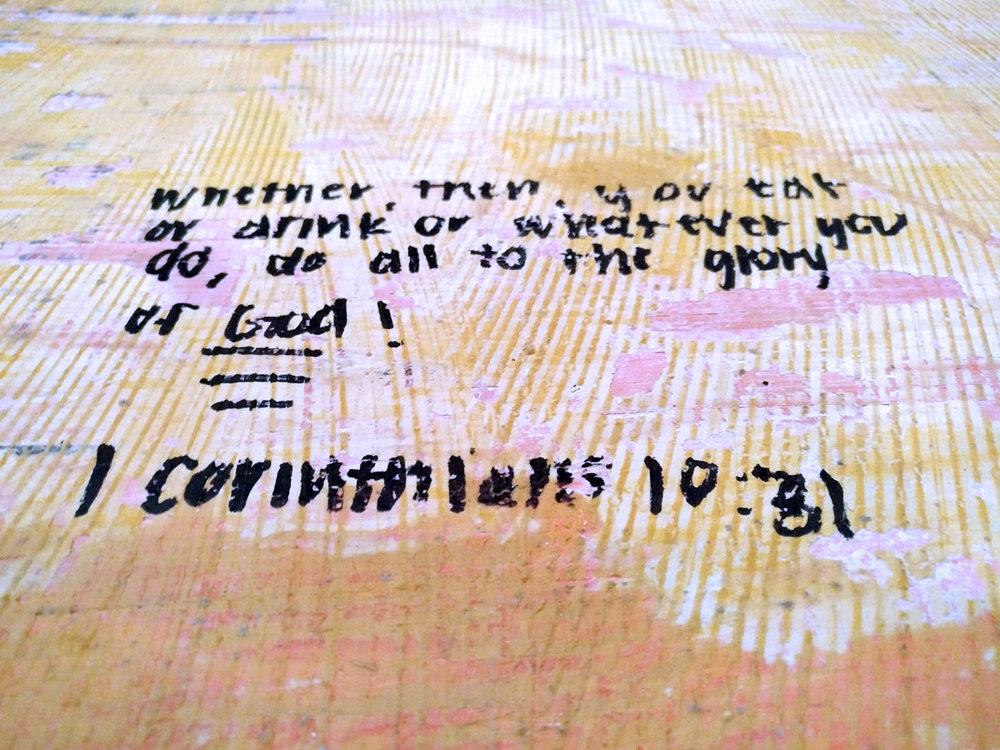 1 Cor 10:31