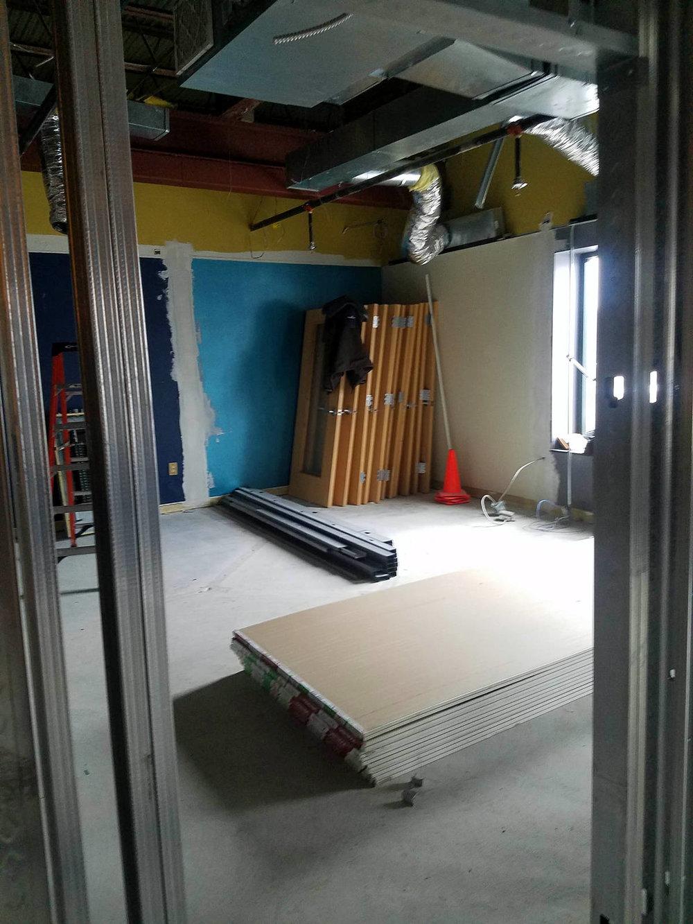 Week 3 - Kids Expansion Drywall - Kids Room
