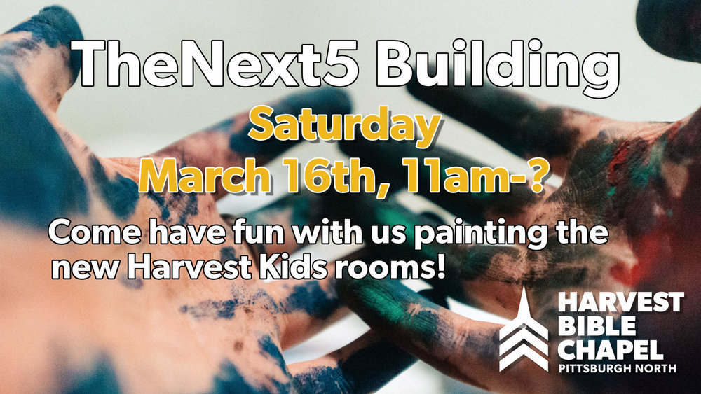"You know it's a party because it non-specifically goes until ""?"" Otherwise it's just be painting!"