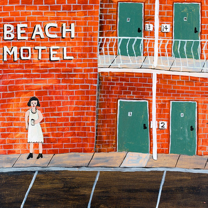 India at the Beach Motel by Nick Santoro