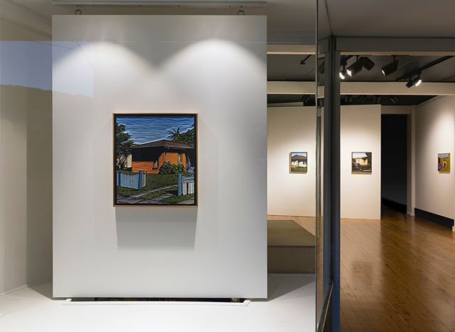 """Final week to catch, """"The Castle"""", a group exhibition featuring works by Rob Howe, Frank Nowlan and Christopher Zanko. We're open from 10-3pm today."""