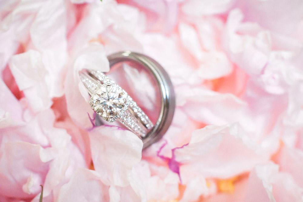 macro ring shot | lake michigan beach wedding