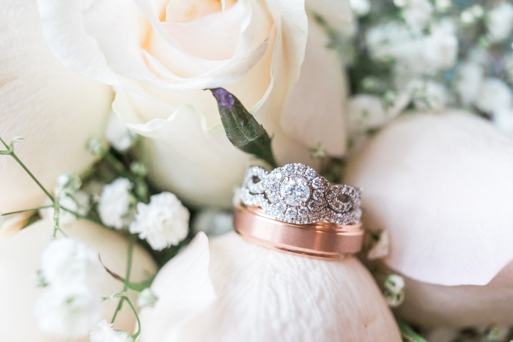 winter wedding | great gatsby wedding | vintage flair wedding |  DIY | wedding details | art deco wedding | michigan wedding | wedding rings
