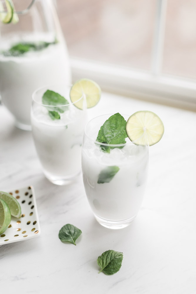 Coconut Mojito Recipe | Rum Cocktail | Signature Drink | Wedding Reception
