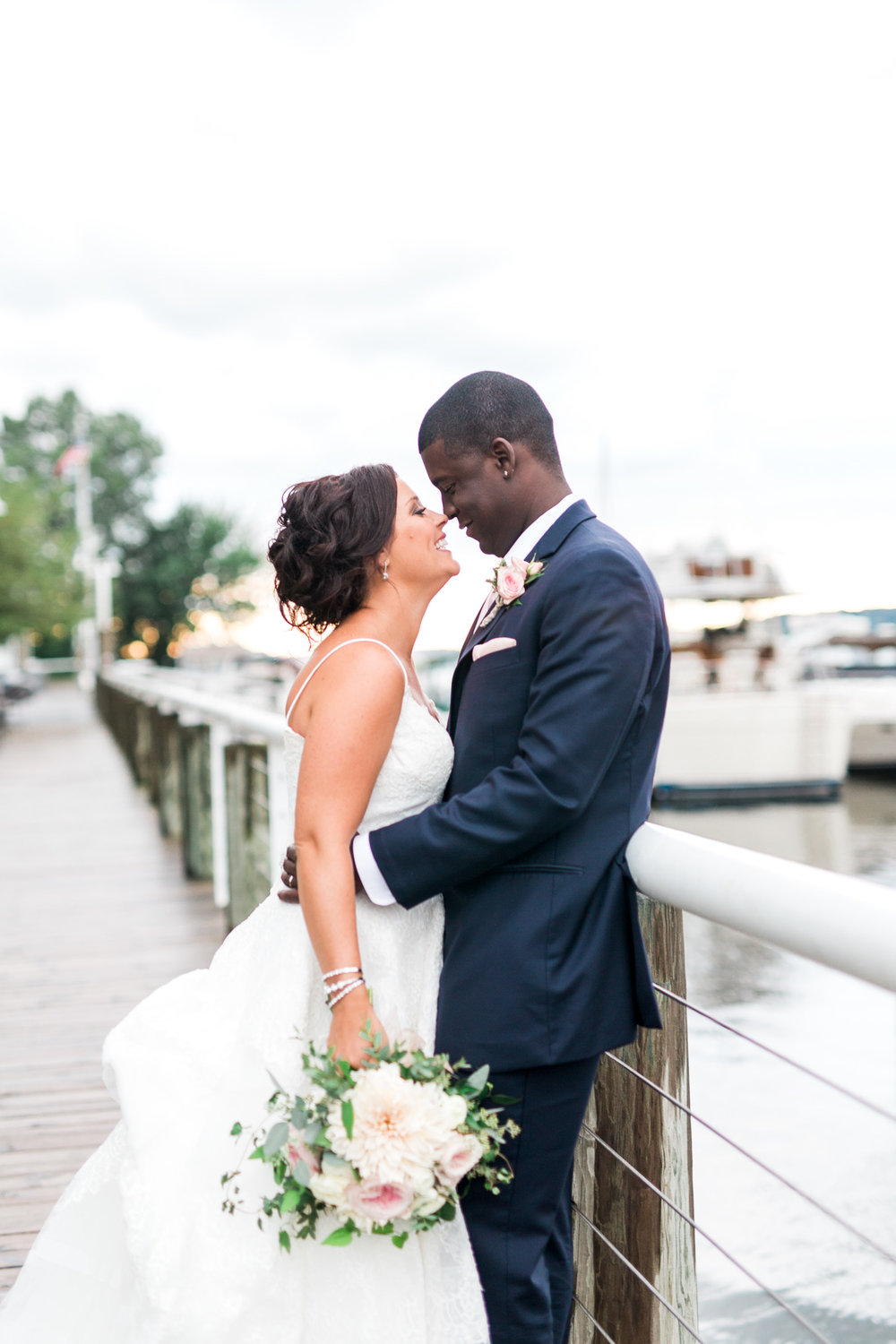 Nautical Dockside Michigan Wedding | West Michigan Wedding Photographer | Laurenda Marie Photography