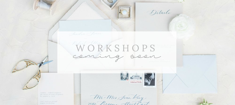 West Michigan Wedding Workshops