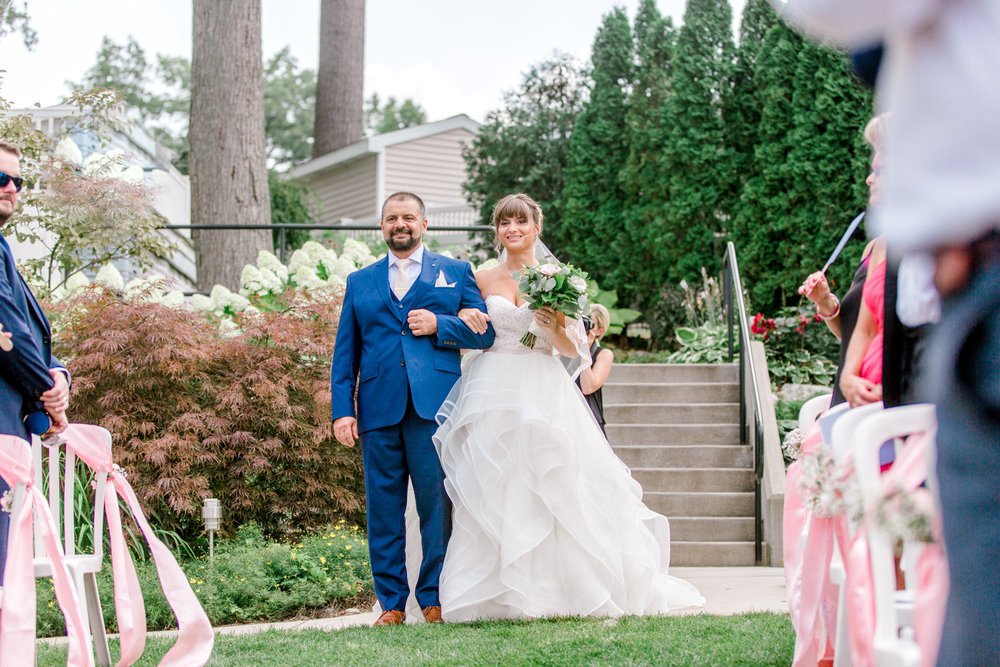 Nautical Dockside Michigan Wedding on Gun Lake