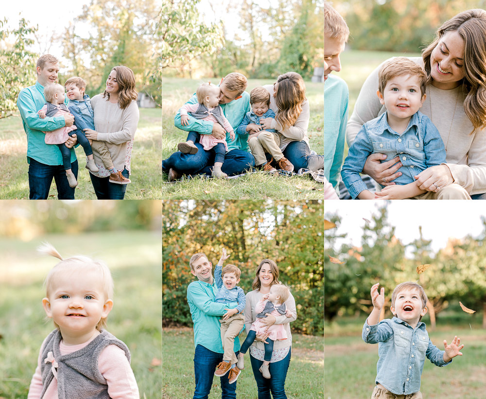 Fall Family Mini Sessions | Fall Wardrobe | West Michigan Family Photographer