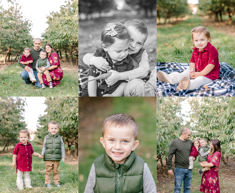 Fall Family Mini Sessions | Apple Orchard | Family Session What to Wear | Lifestyle Family Photography | West Michigan Family Photographer