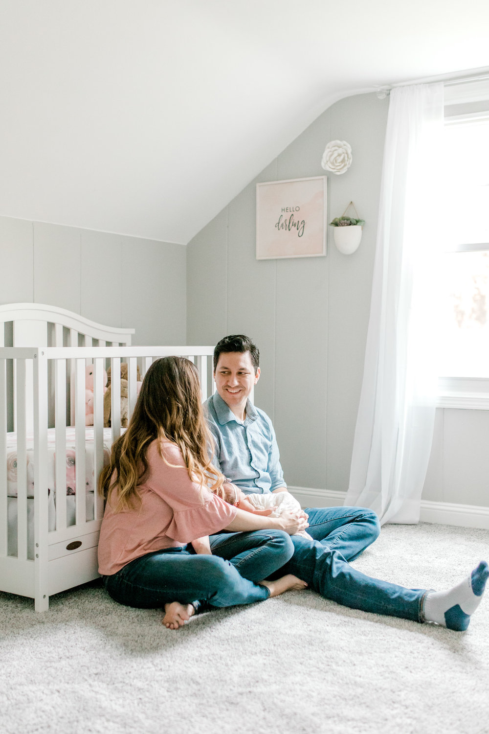 Newborn Lifestyle Session | In-Home Lifestyle | West Michigan Family Photographer | Light & Airy Photographer