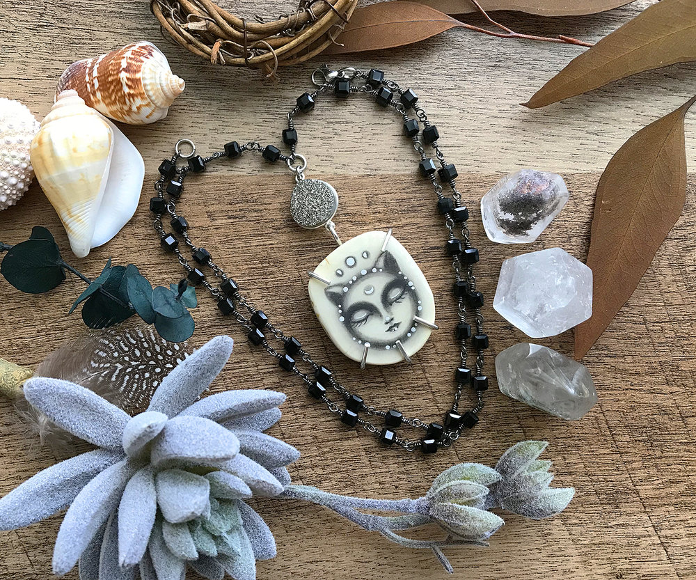 Pebble cat rosary 1.jpg