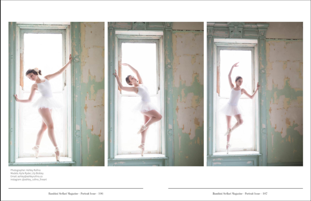 tween dancer in window