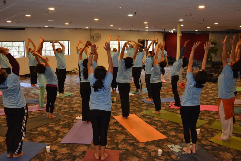 Yogathon Surya Namaskar Sun Salutations
