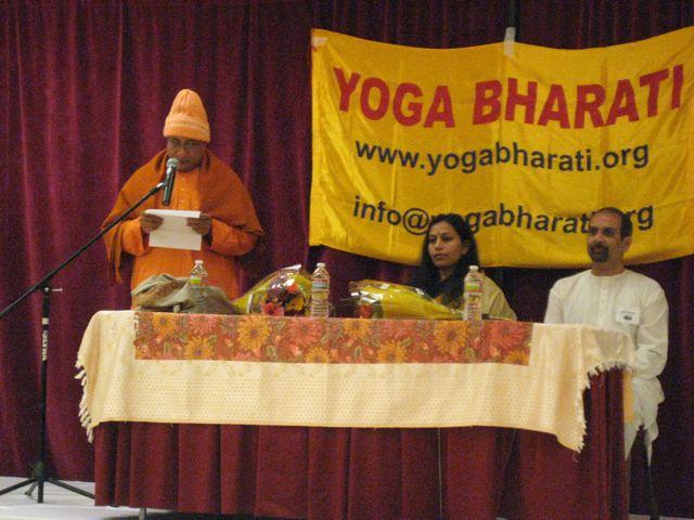 Yoga Teacher Training 2012 Swami Prasannatmananda Vedanta Society