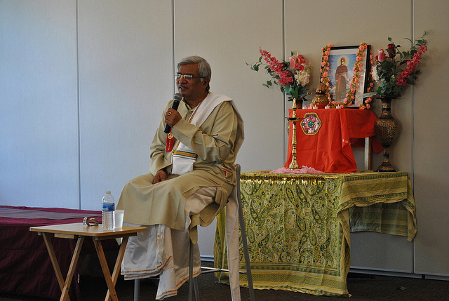 N.V.Raghuram at Dharma and Yoga Fest 2014