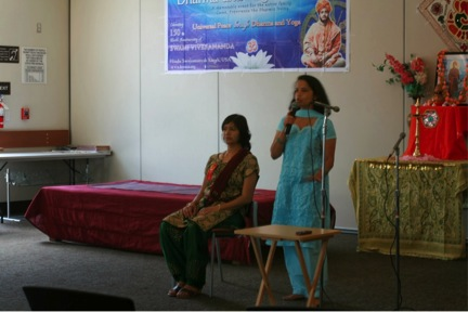 Ashwini Savita at Dharma and Yoga Fest