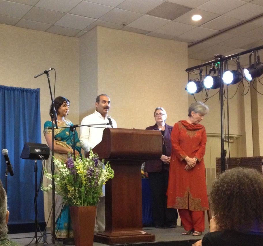 Anil Surpur and Ashwini Surpur at Kriya Yoga Congress Yoga Bharati