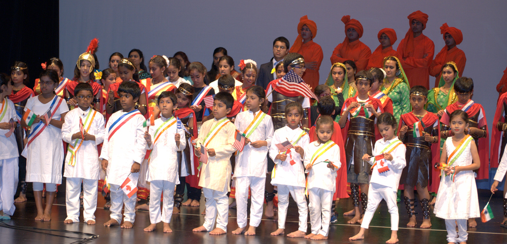 Our kids performed a grand play on Swami Vivekananda's life at our Yoga Sangam 2012