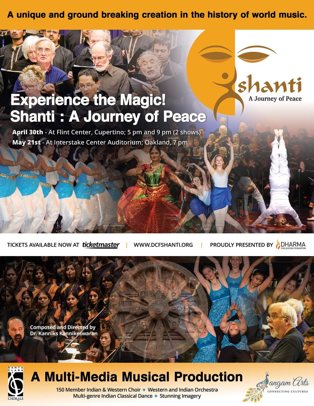 Shanti - Dharma Civilization Foundation Multi Media Performance