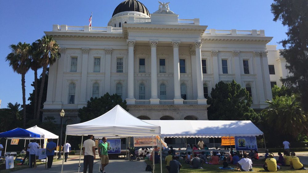 International Day of Yoga 2017 at Sacramento