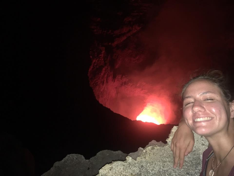 Masaya Volcano Lava