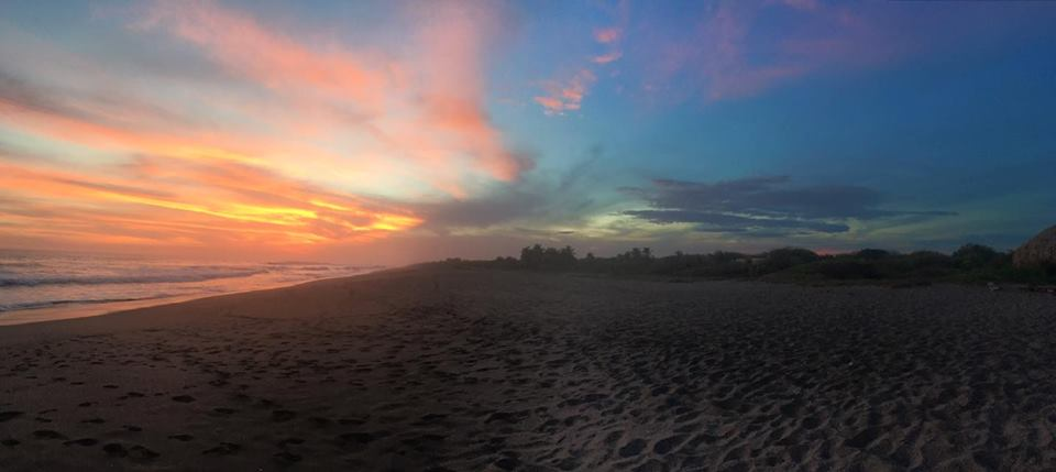 Surfing Turtle Lodge Sunset