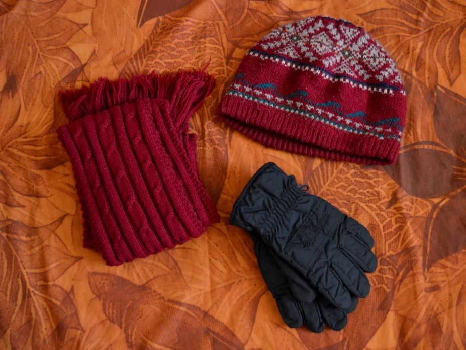Europe Winter Packing List: Accessories